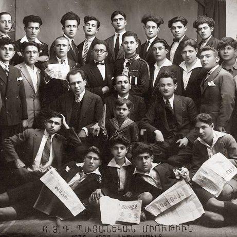 Դաշնակցական մամուլը՝ Հ. Յ. Դ. Պատանեկան Միութեան անդամներու ձեռքին 1926-1928